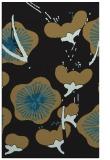 rug #565789 |  black gradient rug