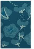 rug #565817 |  blue-green gradient rug