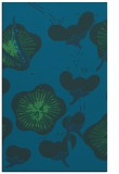 rug #565849 |  blue-green natural rug