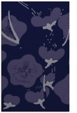 rug #565853 |  blue-violet natural rug
