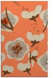 rug #565965 |  orange gradient rug
