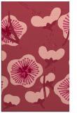rug #565985 |  pink gradient rug