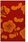 rug #566013 |  orange gradient rug