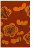 rug #566025 |  red-orange gradient rug