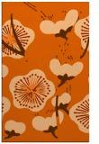 rug #566029 |  red-orange natural rug