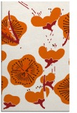 rug #566037 |  red-orange gradient rug