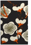 rug #566077 |  black gradient rug