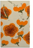 rug #566085 |  orange gradient rug
