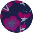 rug #566149 | round blue gradient rug