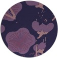 rug #566217 | round purple gradient rug