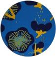 rug #566289 | round blue gradient rug