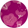 rug #566329   round pink gradient rug