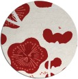 rug #566370 | round gradient rug
