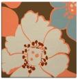 rug #567021 | square orange rug