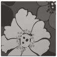 rug #567025 | square red-orange natural rug