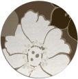 rug #568021 | round white natural rug