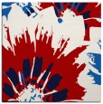 rug #568825 | square red popular rug