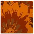 rug #568841 | square red-orange popular rug