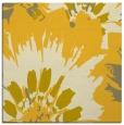 rug #568873 | square yellow natural rug