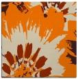 rug #568901 | square orange natural rug