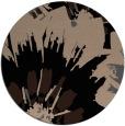 rug #569653 | round beige natural rug