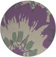 rug #569821 | round purple natural rug