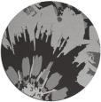 rug #569841 | round red-orange natural rug