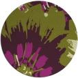 rug #569869 | round purple natural rug