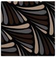 rug #572117 | square black retro rug