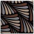 rug #572121 | square brown retro rug