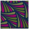 rug #572141 | square green retro rug