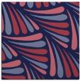 rug #572197 | square blue-violet retro rug