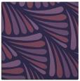 rug #572201 | square purple popular rug