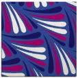 rug #572209 | square blue-violet retro rug