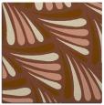 rug #572249 | square mid-brown rug