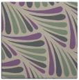 rug #572285   square purple retro rug