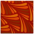 rug #572349 | square red retro rug