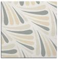 rug #572389 | square white retro rug
