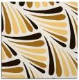 rug #572401 | square brown retro rug
