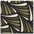 rug #572413 | square black retro rug