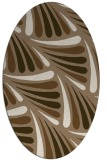 rug #572609   oval beige rug