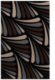 rug #572821    black retro rug