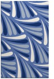 rug #572849 |  blue retro rug