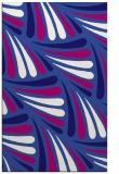 rug #572913    blue-violet retro rug
