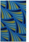 rug #572977    blue retro rug