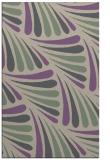 rug #572989    purple retro rug