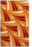 rug #573001    orange retro rug