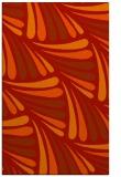 rug #573053 |  red retro rug