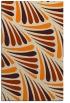 rug #573125 |  orange popular rug
