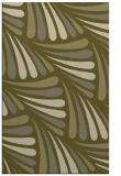rug #573141 |  light-green retro rug
